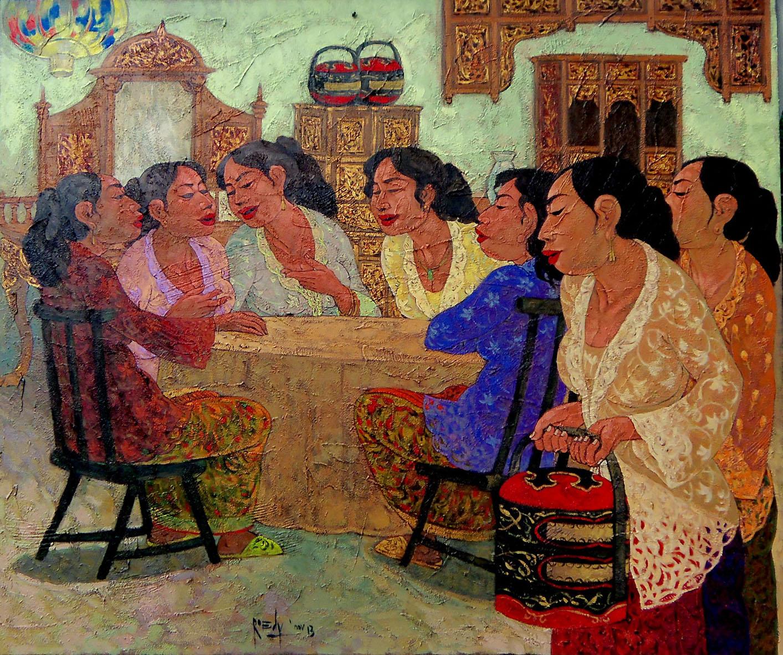 Rudy Mardijanto, Acrylic on canvas, 100cm x 120cm