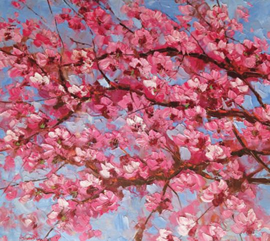 Ananta, Oil on canvas, 100cm x 120cm