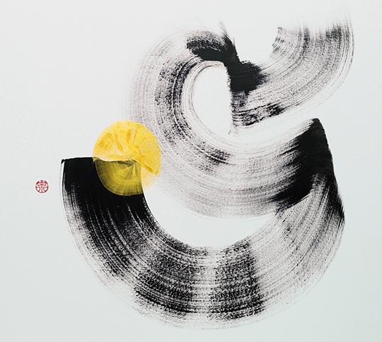 Simon Wee, Acrylic on canvas, 92cm x 92cm