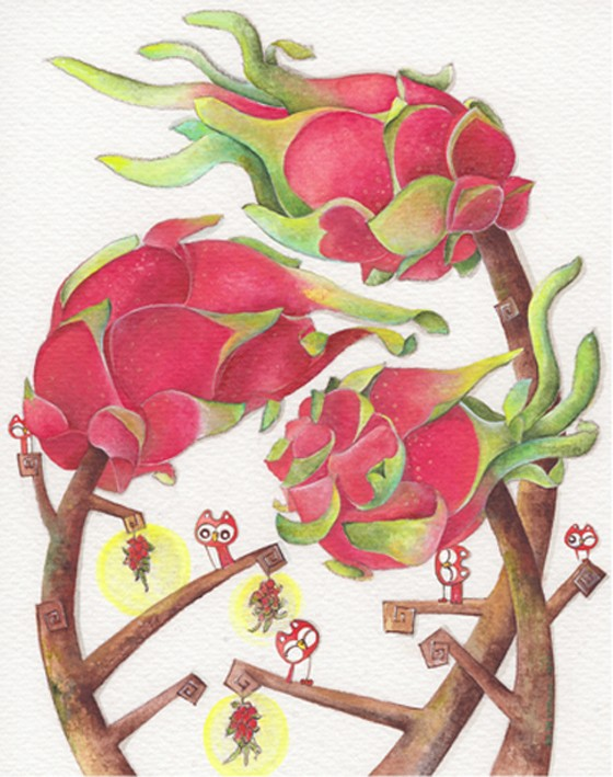 Fruit Forest, Dragon Fruit