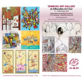 Tembusu Art Gallery at Affordable Art Fair 2Y-14