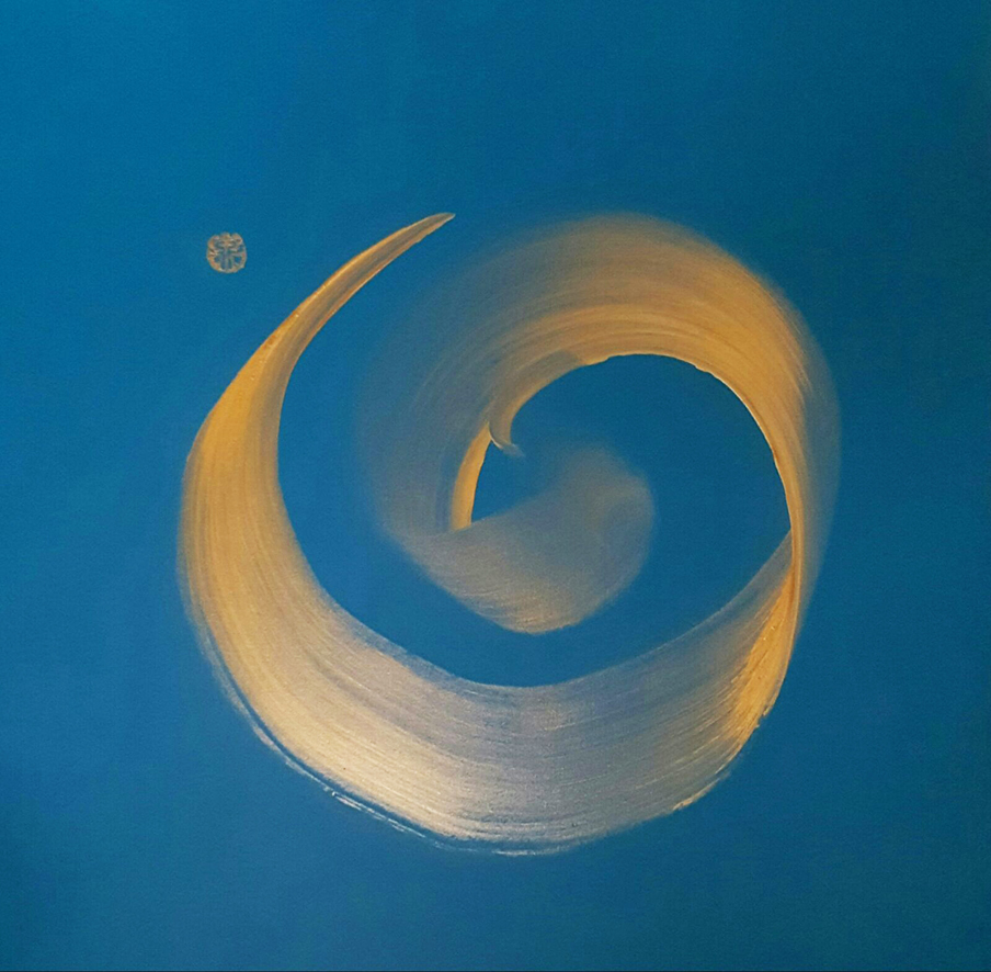 Simon Wee, Acrylic on canvas, 76cm x 76cm
