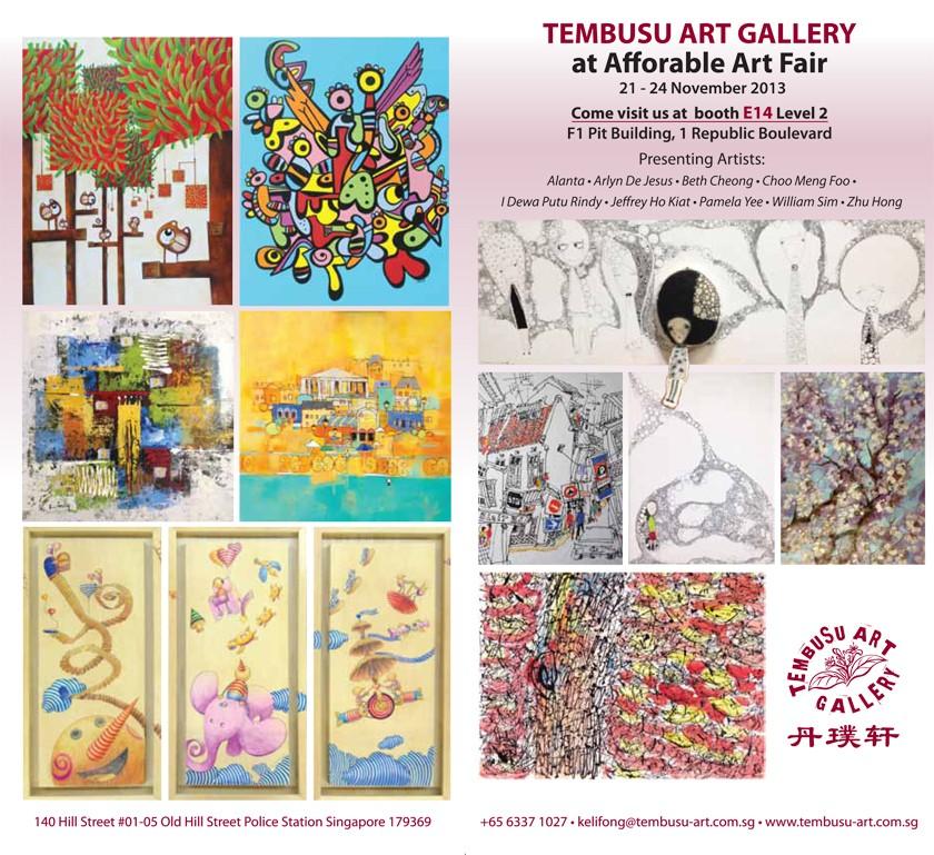 Tembusu Art Gallery at Affordable Art Fair 2Y-14