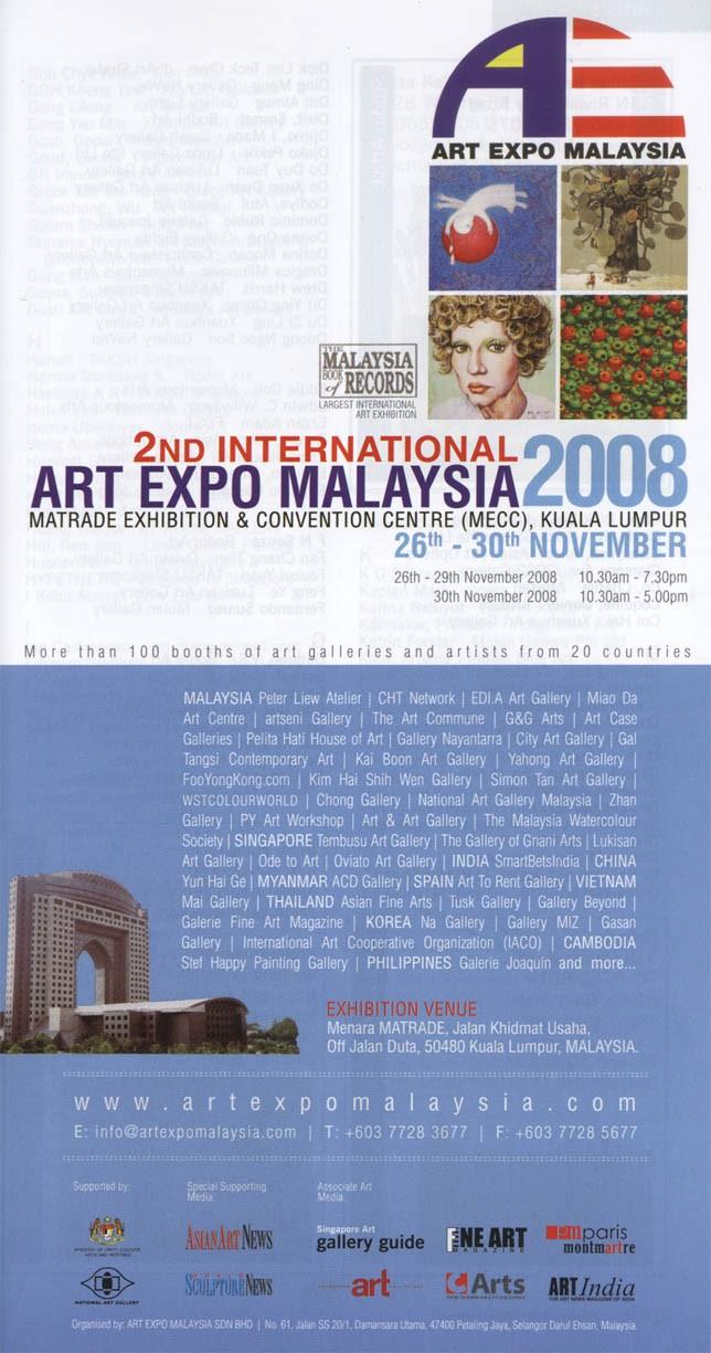 2nd International Art Expo Malaysia 2008