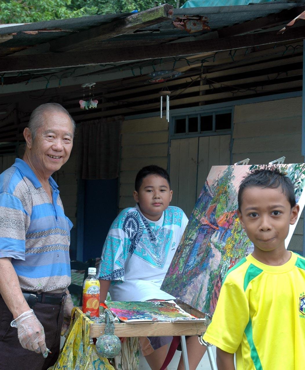 The Last Kampung of Singapore - Lorong Buangkok
