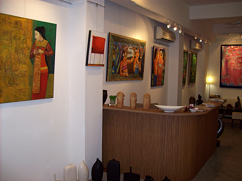 Fragments of Indonesia- Group of Indonesian Artists