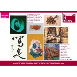 "AFFORDABLE ART FAIR SINGAPORE: ""ART • Bring Your Home to Life"""