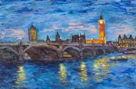 London Night Scene, England