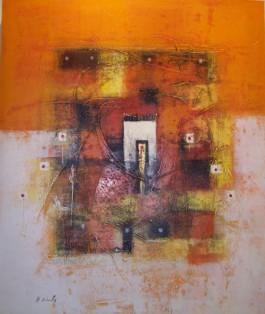 Harmony in Colour- Orange