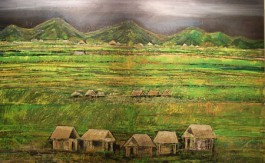 Village in a Pedi Field