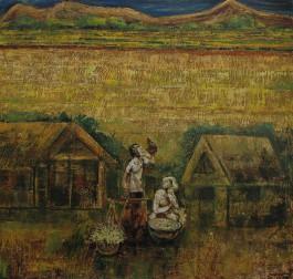 Village Hawker at the Pedi Field